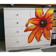 6 Drawer Flower Chest