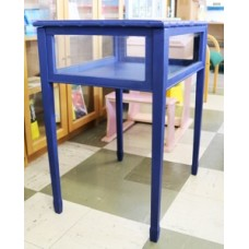 Collectors Display Cabinet - Blue