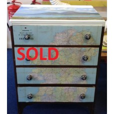 Map 4 Drawer Chest