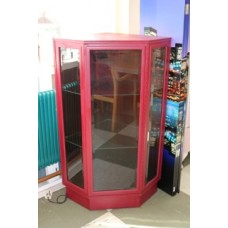 Pink China Display Cabinet